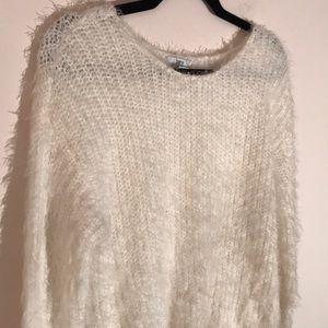 Bar III Fuzzy Sweater